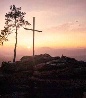 Sonnenaufgang am Rötzenfelsen