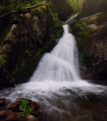 Edelfrauengrab Wasserfall